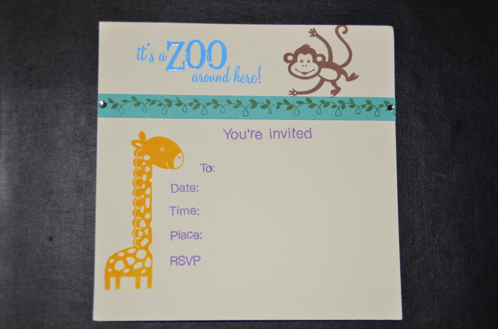 Zoo Invitation